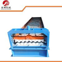 Buy cheap Aluminium Metal Roofing Sheet Roll Forming Machine For 0.3mm Thickness Tiles from wholesalers