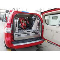 Buy cheap V20D2S Hand Fire Pump Fire Service Vehicle , Toyota Chassis Fire Pumper Truck product
