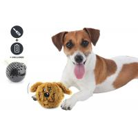 Small Bouncy Dog Entertainment Toys , Cool Plastic Dog Throw Toys For Dog for sale