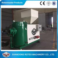 Wood pellet bamboo using biomass burner
