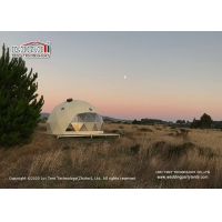 Buy cheap 8m Diameter Geodesic Dome Glamping Tent For Outdoor Hotel Reception from wholesalers