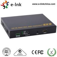 China 1080P Stereo Signal HDMI Over Fiber Optic Extender With 1 Channel Analog Audio on sale