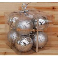 Buy cheap 2.8 in christmas tree ornament ball christmas decoration product