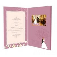Buy cheap Touch Screen TFT LCD Video Brochure for Personalized Wedding / Event / Conference product