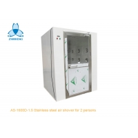 Buy cheap Stainless Steel Swing Doors Cleanroom Air Shower For 2 Person product