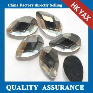 Buy cheap Flat back tear drop DMC rhinestone, hot fix DMC rhinestone hot fix,  wholesale DMC rhinestone product
