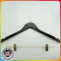 China Customized Wood Clothes Hanger on sale