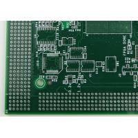 Buy cheap Professionl Oem HDI Printed Circuit Boards Green & White Soldmask product