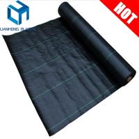 Buy cheap Black color with green line ground cover/weed control mat/weed barrier for Mexico market product