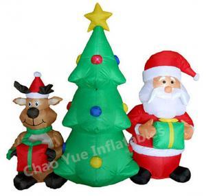 Buy cheap 2015 decorações infláveis da árvore de Natal do diodo emissor de luz da venda quente para o feriado do Natal product