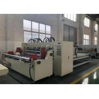 Buy cheap Steel Material Corrugated Slitter Machine Auto Feed 2500mm Thin Blade With Stacker product