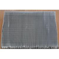 Buy cheap Thermal performance Single Row Flat Fin Tube For Air Condensers CE ISO from wholesalers