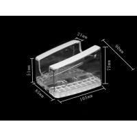 Buy cheap COMER Universal acrylic android tablet PC floor shelves with alarm charging 8 port systems product