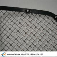 """Buy cheap Stainless Steel Wire Mesh Car Grill Crimped With Opening 7/16""""×7/16"""" from wholesalers"""