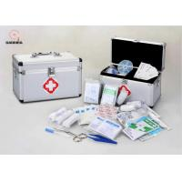 Buy cheap Aluminum Emergency First Aid Kit with Supplies First Aid Box for Home and Outdoor Activities product
