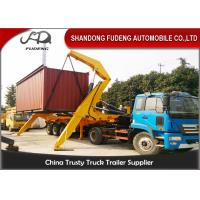 Buy cheap 40 Foot Container Side Lifter Crane Truck Trailer  Heavy Load Capacity product