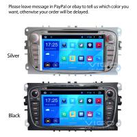 Android 4.4.4 System Car Stereo for Ford Focus Galaxy GPS Navigation 3G WIFI