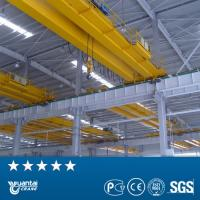 Buy cheap YUANTAI certified LH model double girder overhead hoist crane product