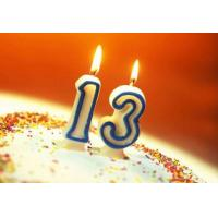 Buy cheap Safe Custom Birthday Cake Candles , Little Number Wedding Anniversary Candles product