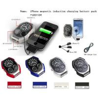 Buy cheap For iPhone megnetic induction charging battery pack product