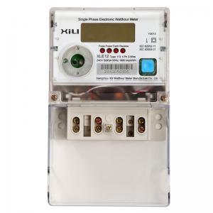 Buy cheap 単一フェーズ多機能エネルギー メートル、家のための電気エネルギー力メートル product
