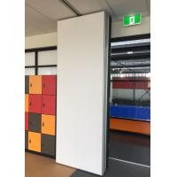 Buy cheap Conference Hall Portable Wall Partitions Hinged Paired Rubber Sealing product