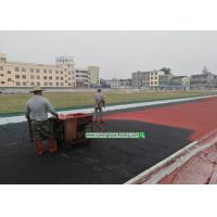 Buy cheap 13mm Running Track Outdoor/ Indoor Abroad Construction Service On-Site Guidance from wholesalers