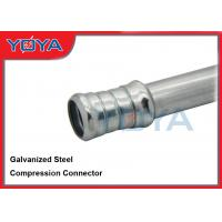 Buy cheap Galvanized Steel Conduit Fittings , EMT 1 / 2