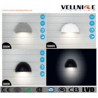 China VELLNICE latest design IP65 Waterproof LED wall lamp half ball shaped can be charged pured aluminum body wholesale