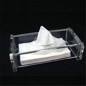 China caja de acrílico del tejido wholesale