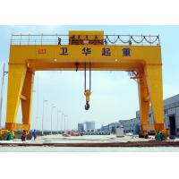 Buy cheap High Strength Double Girder Gantry Crane Heavy Lift Crane FEM / DIN Standard product