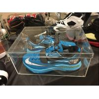 China Hand-Made Clear / Transparent Acrylic Shoe Box For Sneaker China Factory Price on sale