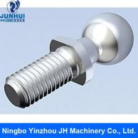 Ball stud for hydraulic fittings