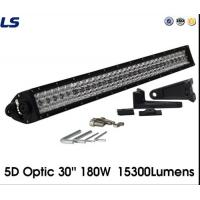 China 5D Optic 30′′ 180W 15300 Lumens Car LED Light Bar for Jeep Wrangler Jk wholesale