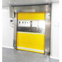 Buy cheap Fast Speed Scrolled Doors Air Shower Tunnel For  Material  ,  Air Blow Passage product