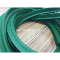 China Low Noise Food Grade Transmission Parts Anti-slip High Tensile Green Industrial Conveyor Belt Cleat on sale