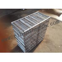 Buy cheap Galvanized Metal Rib Lath Box 0.3-0.4mm Thickness Silver Color Building Materials product