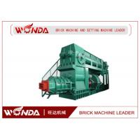 Buy cheap Wire Cut Interlocking Clay Brick Machine 13000-18000 M³/H Production Capacity product