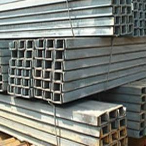 Barra de hierro en U de acero