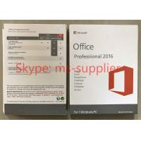China Microsoft Office 2016 Proffesional Plus USB Flash Key Code Activation Online Lifetime Warranty on sale