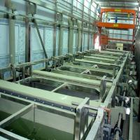 Buy cheap High Precision Aluminium Anodized Equipment / Totally Enclosed Anodizing Production Line product