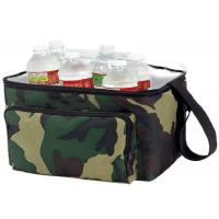 Buy cheap OEM Nylon Material Insulated Wine Cooler Bag Double Deck Cooler Bag from wholesalers