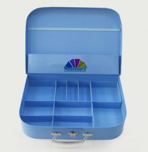 Buy cheap Couleur adaptée aux besoins du client de bleu de boîte-cadeau de valise de carton de jouet des enfants s de conception product