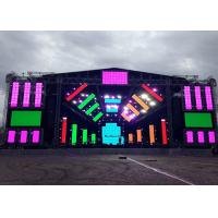 China Full Color Outdoor Rental LED Displays With 1/13 Scan High Rate Refresh Led Screen wholesale