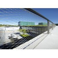Buy cheap Inox Webnet Decorative Rope Mesh For Bridges / Stairs Infill Protection product