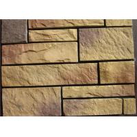 Buy cheap Light Texture Colorful Faux Artificial Wall Stone With Rich Original Flavor product