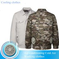 Quality Summer Hot Sell Cooling Heatstroke Suits Fan Overalls Electric Welders Air for sale