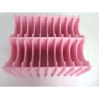 China Pink / Black / Red Eco - Friendly PP Corrugated Fluted Plastic Sheet 1500 x 3500mm on sale