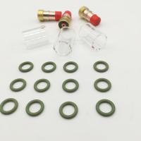 Buy cheap Copper Mig Welding Components , Welding Gas Lens For WP 17 18 26 Welding Torch product
