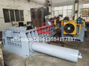Buy cheap WANSHIDA Hydraulic Scrap Metal Tyre Wire Steel Baling Press Compactor Baler Machine For Sale product
